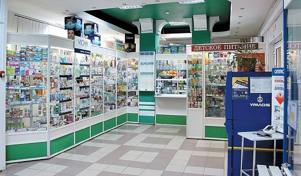 Пример оснащения аптеки